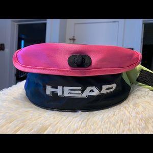 Vntg Head Belly Bag